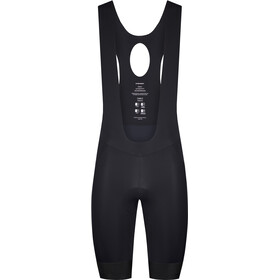 Etxeondo Orhi Bib Shorts Heren, zwart/rood